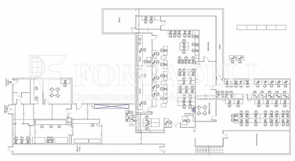 Planta Baja - Oficina en alquiler en Eixample dreta en Barcelona - 298926500