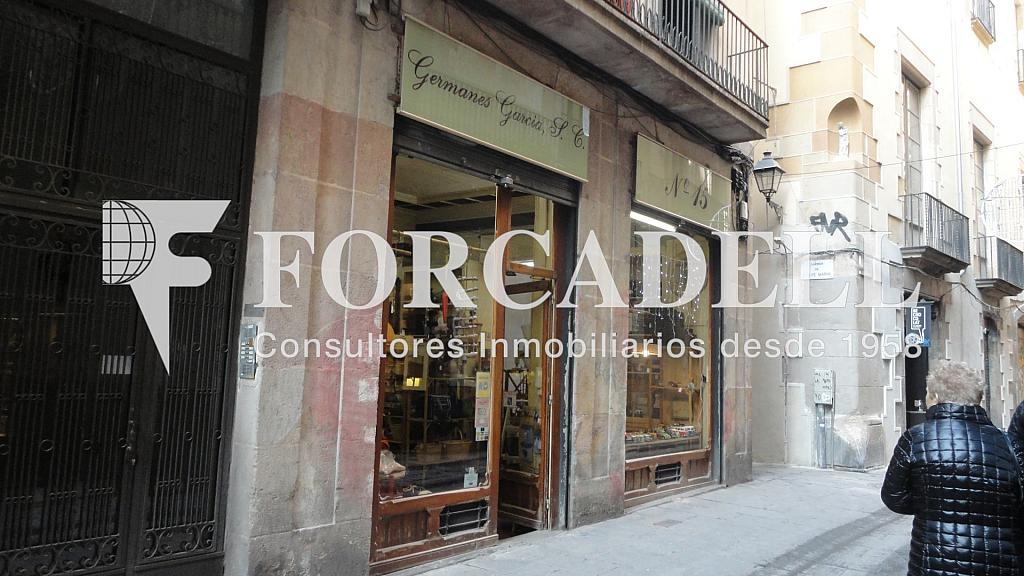 041 - Local comercial en alquiler en El Gótic en Barcelona - 315013684