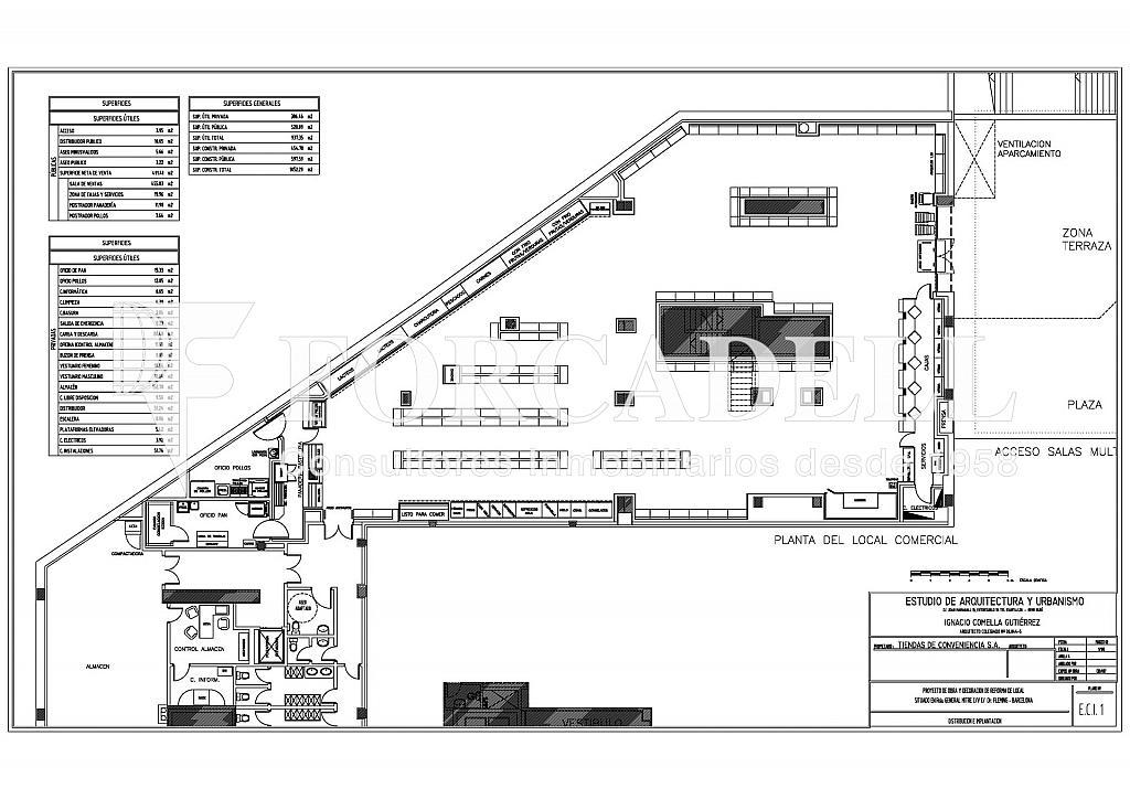 20130823 - OPENCOR GENERAL MITRE_Página_1 - Local comercial en alquiler en Les Tres Torres en Barcelona - 322751844