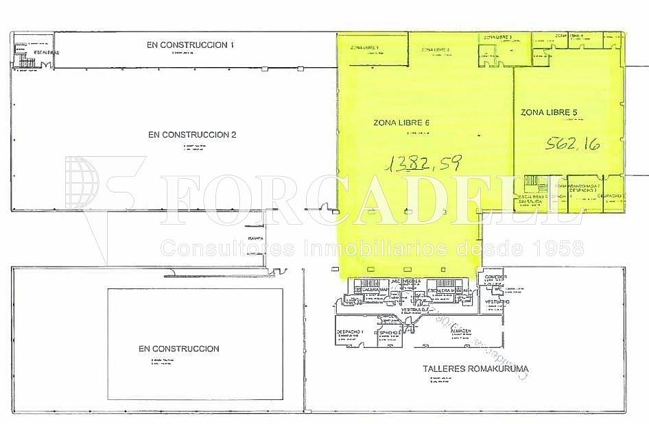 Planol 3 - Local comercial en alquiler en Pla boet en Mataró - 349762229