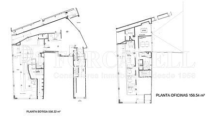 Planol PB - ALTELL - Local comercial en alquiler en Sants en Barcelona - 326919502