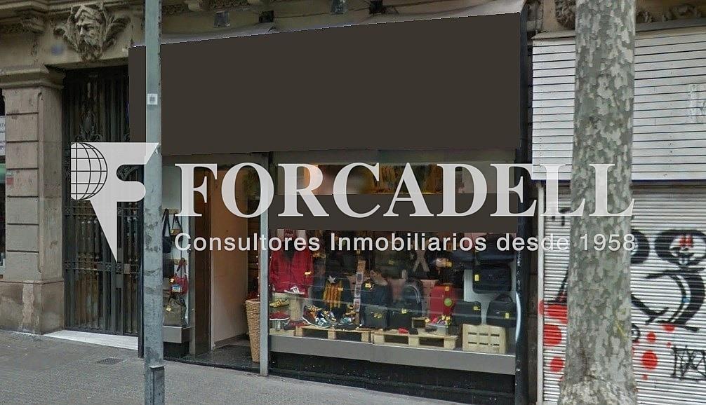 Façana - Local comercial en alquiler en Eixample esquerra en Barcelona - 261859126