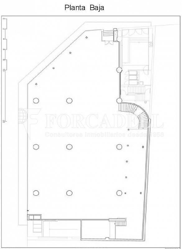PLANTA BAJA - Local comercial en alquiler en Santa Eulàlia en Hospitalet de Llobregat, L´ - 261858919