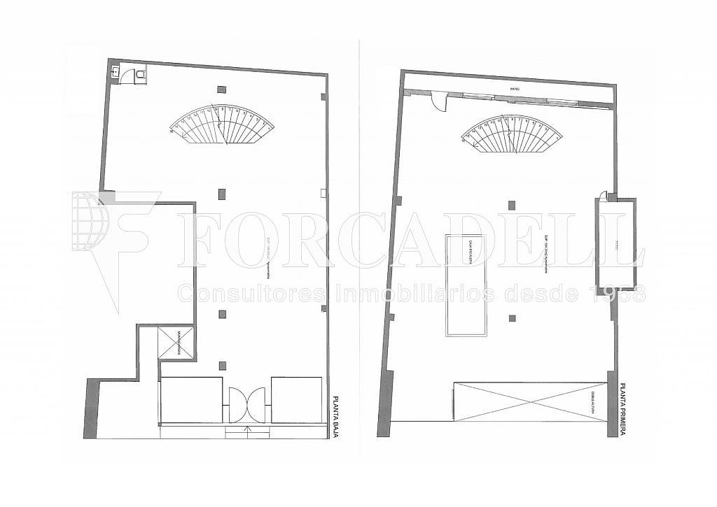 Unió plànols - Oficina en alquiler en Sant Gervasi – La Bonanova en Barcelona - 261863119