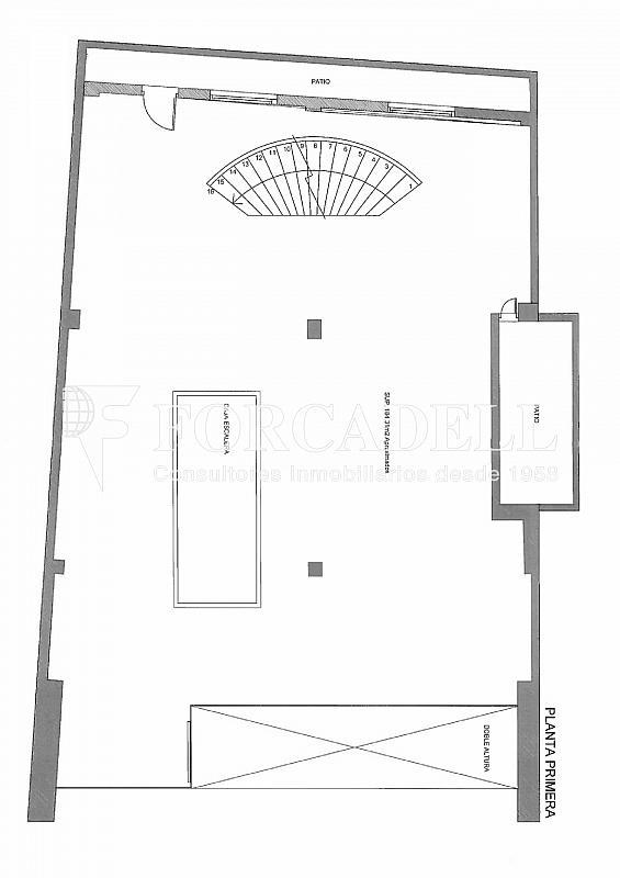 Plano-rubinstein-4-002 - Oficina en alquiler en Sant Gervasi – La Bonanova en Barcelona - 261863182