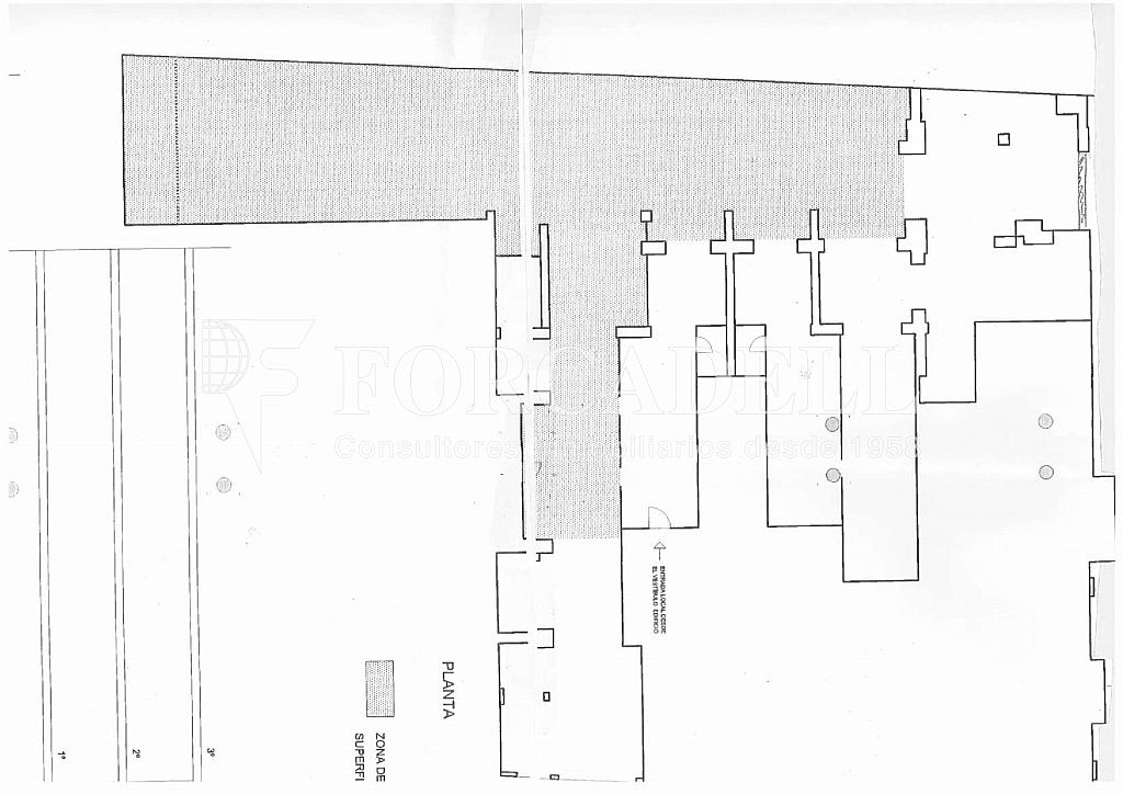 Planol-RdGralMitre-001 - Local comercial en alquiler en Sant Gervasi – Galvany en Barcelona - 261862927