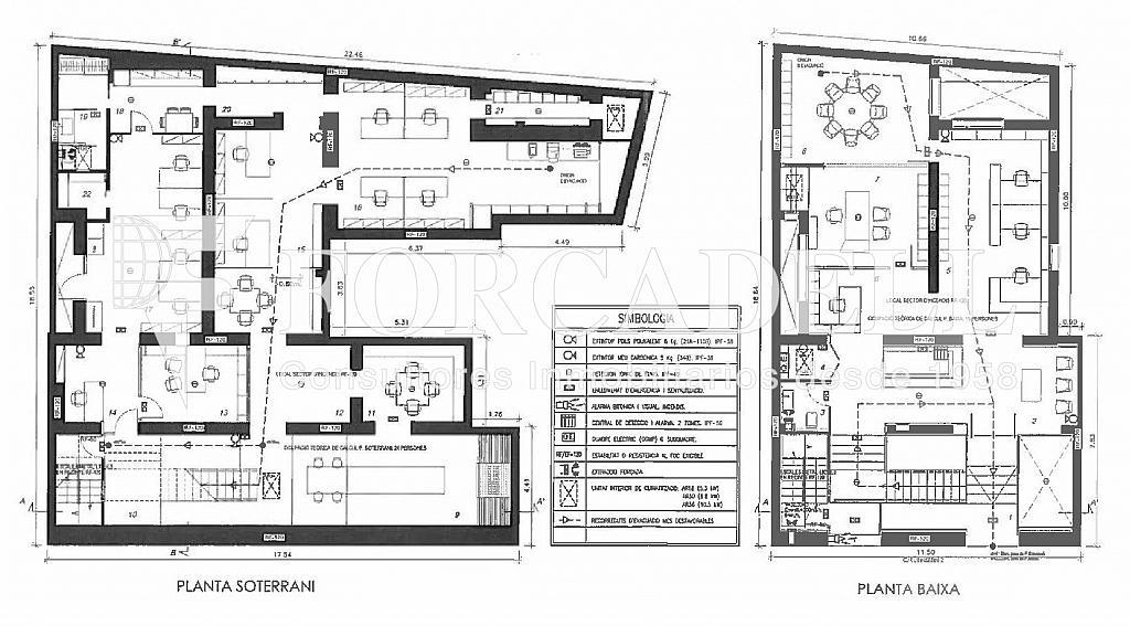 Plano-rubinstein-2-001 - Oficina en alquiler en Sant Gervasi – La Bonanova en Barcelona - 261863095