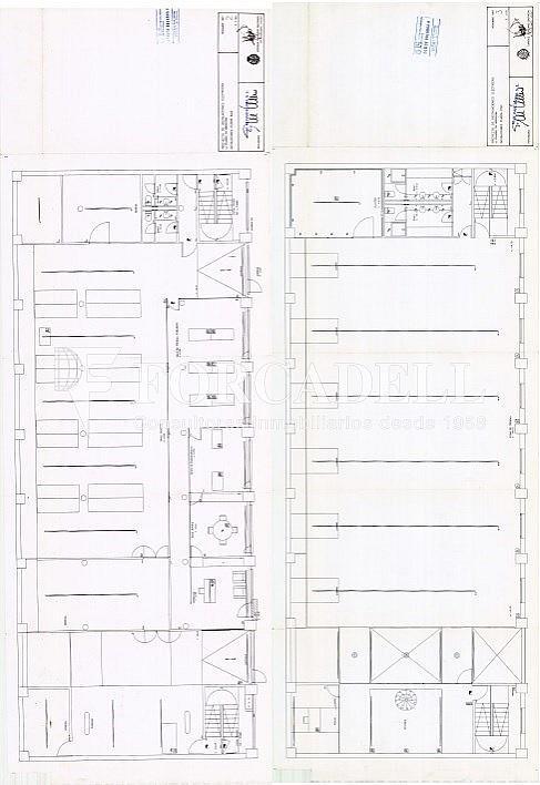 Planos P.Baja +P.Piso - Nave en alquiler en calle Pujades, El Parc i la Llacuna en Barcelona - 297718145