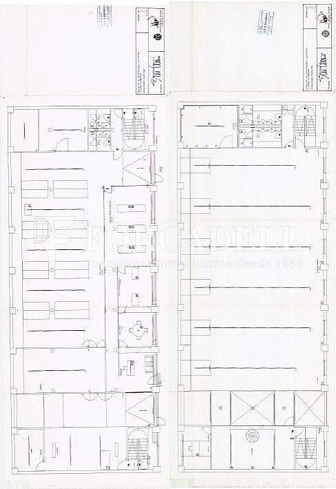 Planos P.Baja +P.Piso - Nave en alquiler en calle Pujades, El Parc i la Llacuna en Barcelona - 297718148