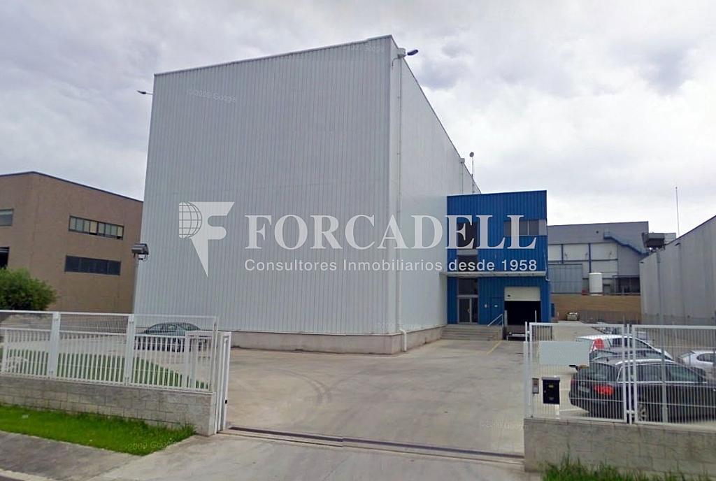 Fachada - Nave industrial en alquiler en calle Torrent Tortuguer, Barbera del Vallès - 266475432