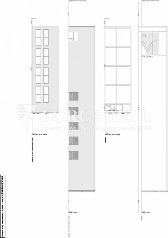 Parcela nabeca sant boi. secciones y alzados - Nave en alquiler en calle Santa Creu de Calafell, Sant Boi de Llobregat - 266473644