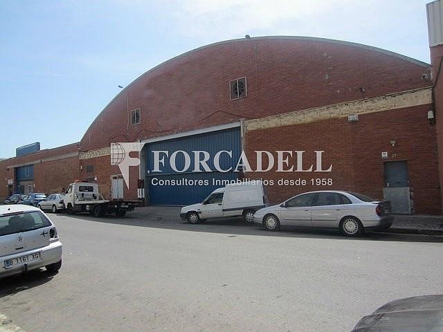 Fachada - Nave industrial en alquiler en calle Llobatona, Viladecans - 266476497