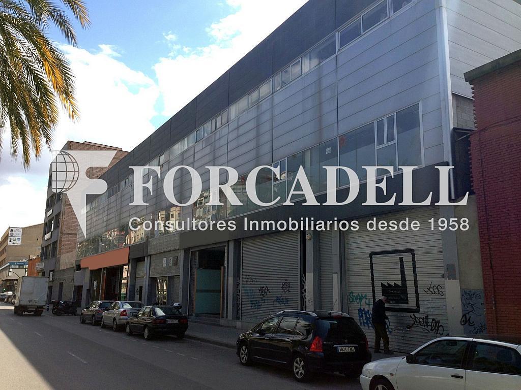 IMG_5506 Façana - Nave en alquiler en calle Carrilet, Sant Josep en Hospitalet de Llobregat, L´ - 266466648