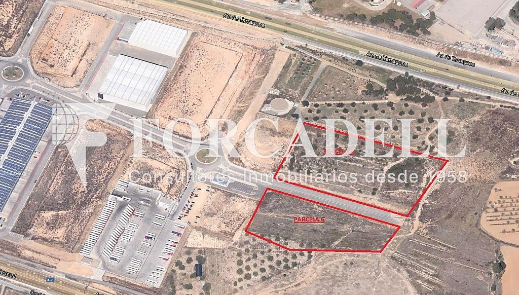 Vista aerea - Parcela industrial en alquiler en calle Tarragona Parcela, Eixample Tarragona en Tarragona - 266464326