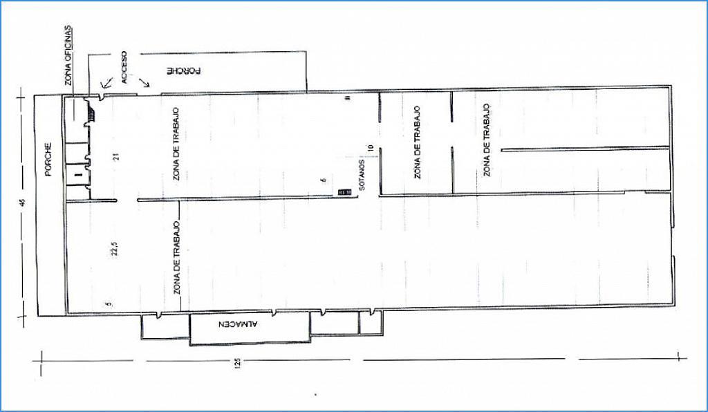 Planol 1 - Nave industrial en alquiler en calle De Manresa, Santpedor - 266470077