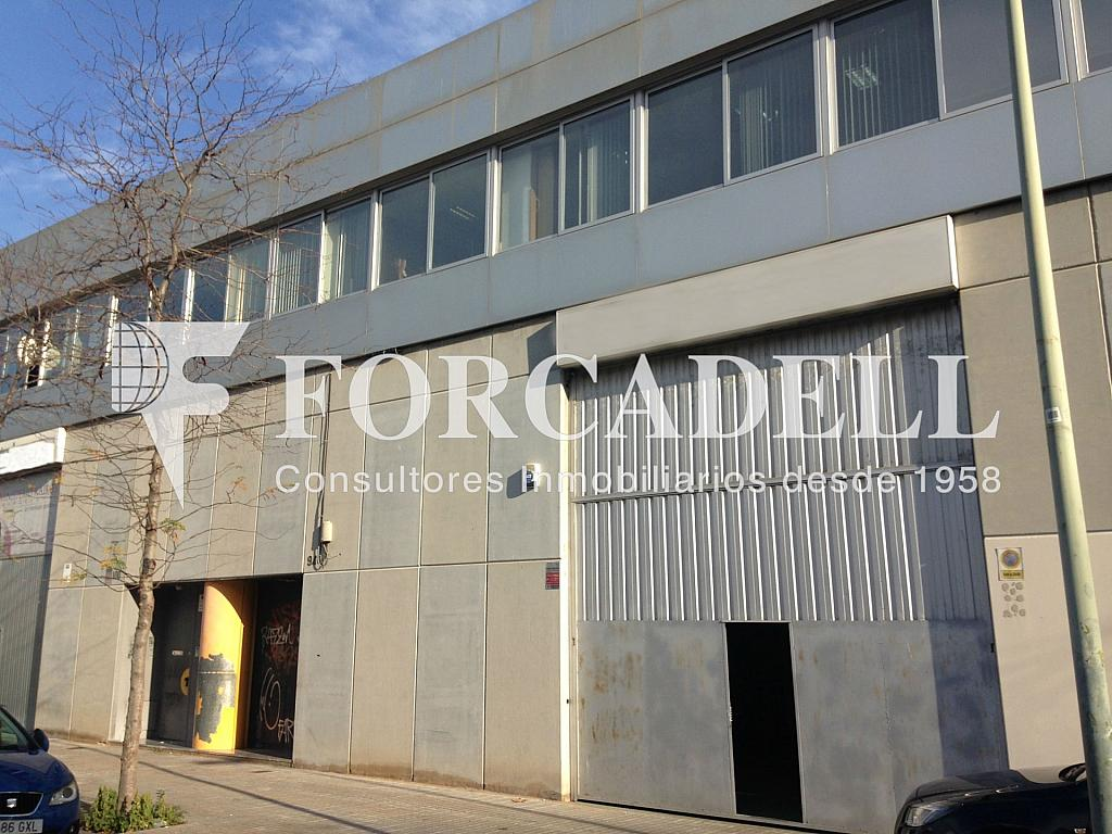 Fachada - Nave industrial en alquiler en calle Provençals, El Raval en Barcelona - 266472990