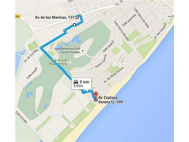 Ático en alquiler de temporada en Las Marinas en Roquetas de Mar - 311006707