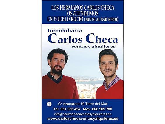 Estudio en alquiler de temporada en calle Gaviotas, Torre del mar - 290681845