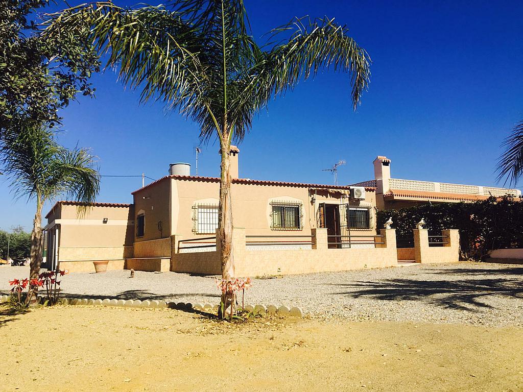 Fachada - Casa rural en alquiler en carretera Cope, Águilas - 272211532