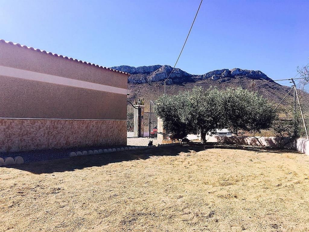 Jardín - Casa rural en alquiler en carretera Cope, Águilas - 272211550