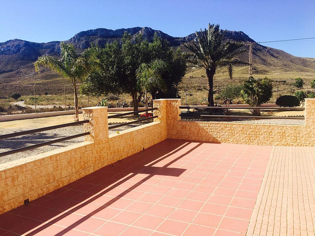 Terraza - Casa rural en alquiler en carretera Cope, Águilas - 272211592
