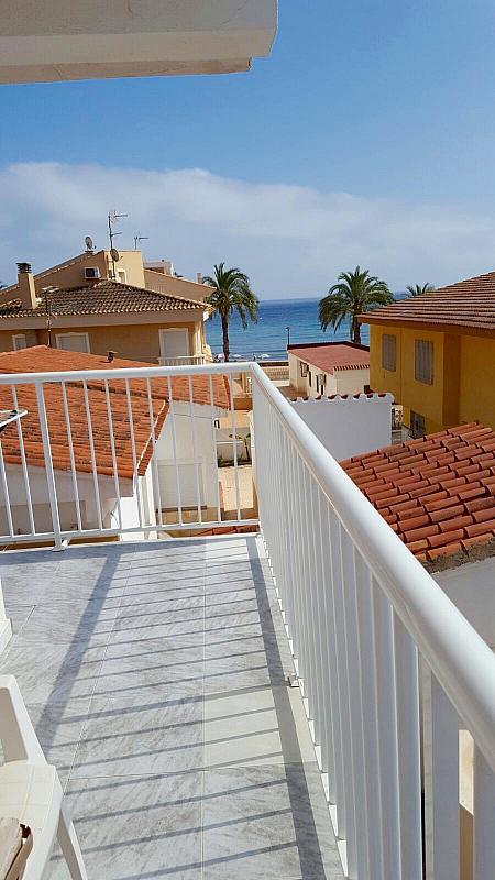Terraza - Piso en alquiler en calle Cala Blanca, Águilas - 284331358