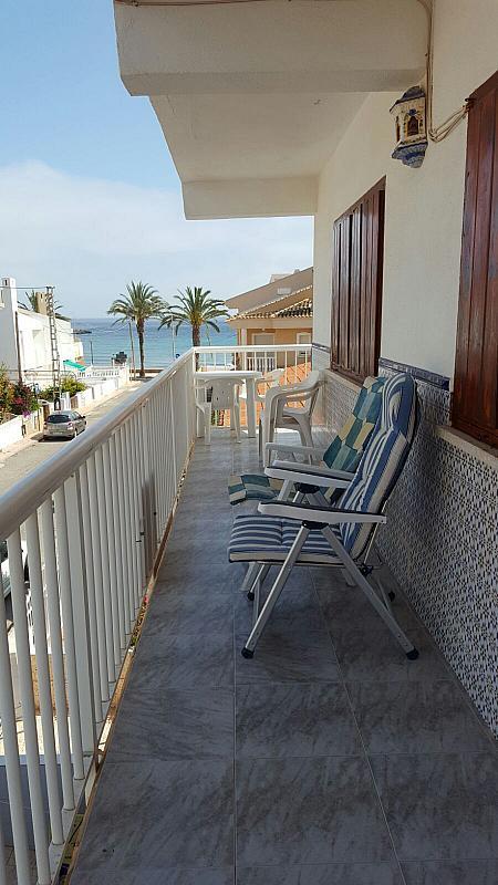 Terraza - Piso en alquiler en calle Cala Blanca, Águilas - 284331373