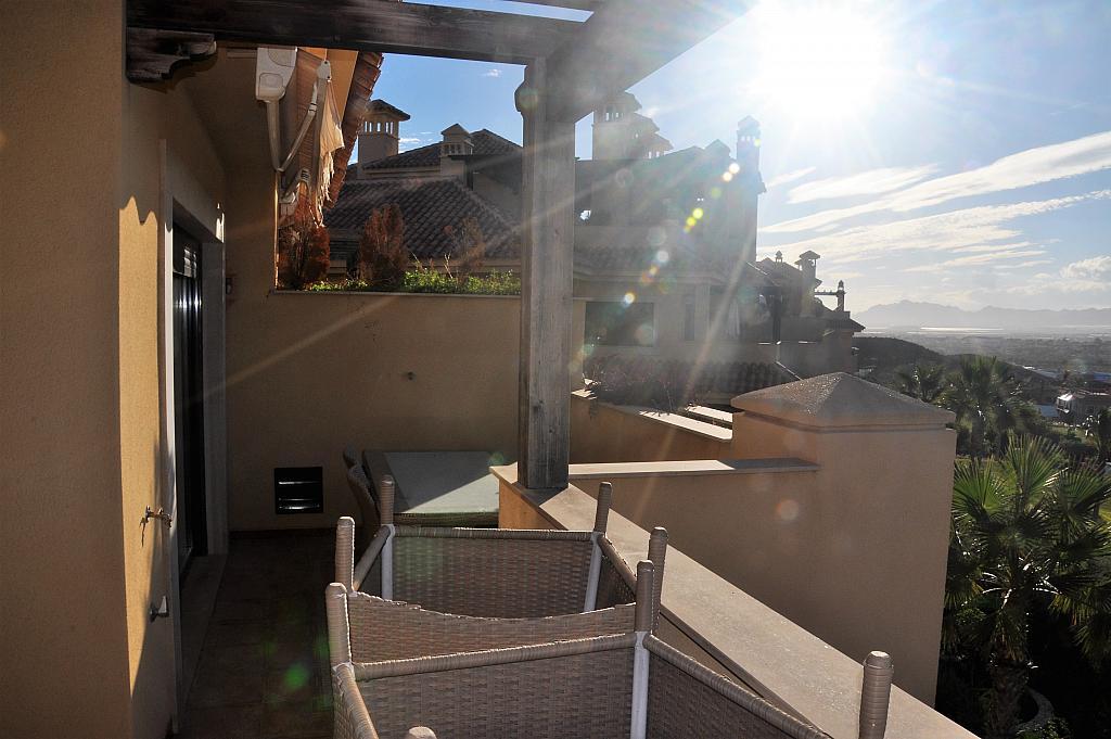 Terraza - Dúplex en alquiler en calle Antonio Campos Mula, Águilas - 303465680
