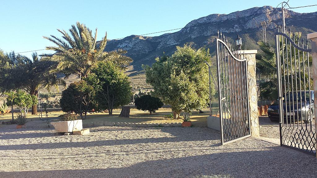 Jardín - Casa rural en alquiler en calle Cabo Cope, Águilas - 126750858