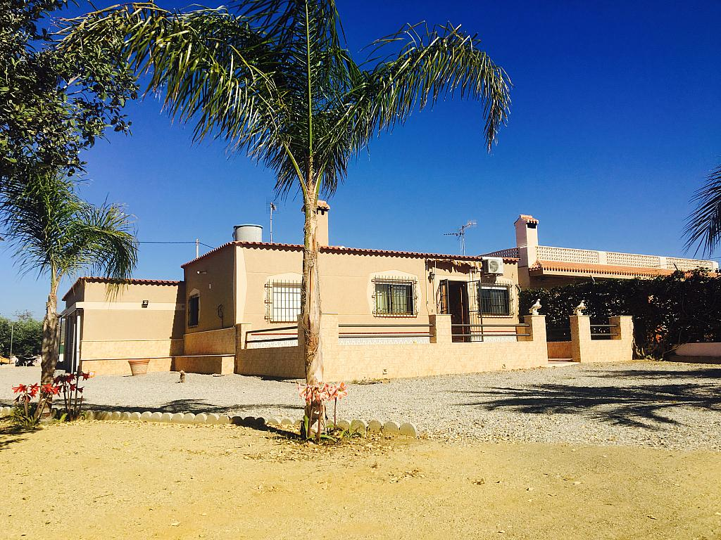 Fachada - Casa rural en alquiler en calle Cabo Cope, Águilas - 271122761