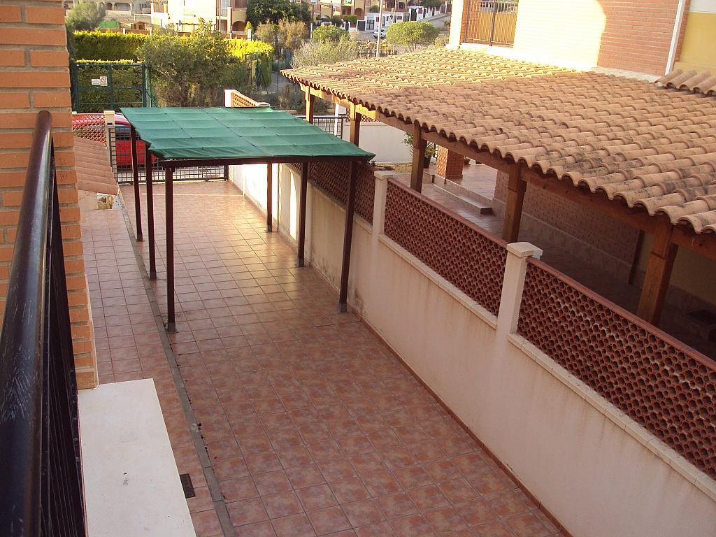 Porche - Dúplex en alquiler de temporada en calle Rio Segura, Águilas - 129170200
