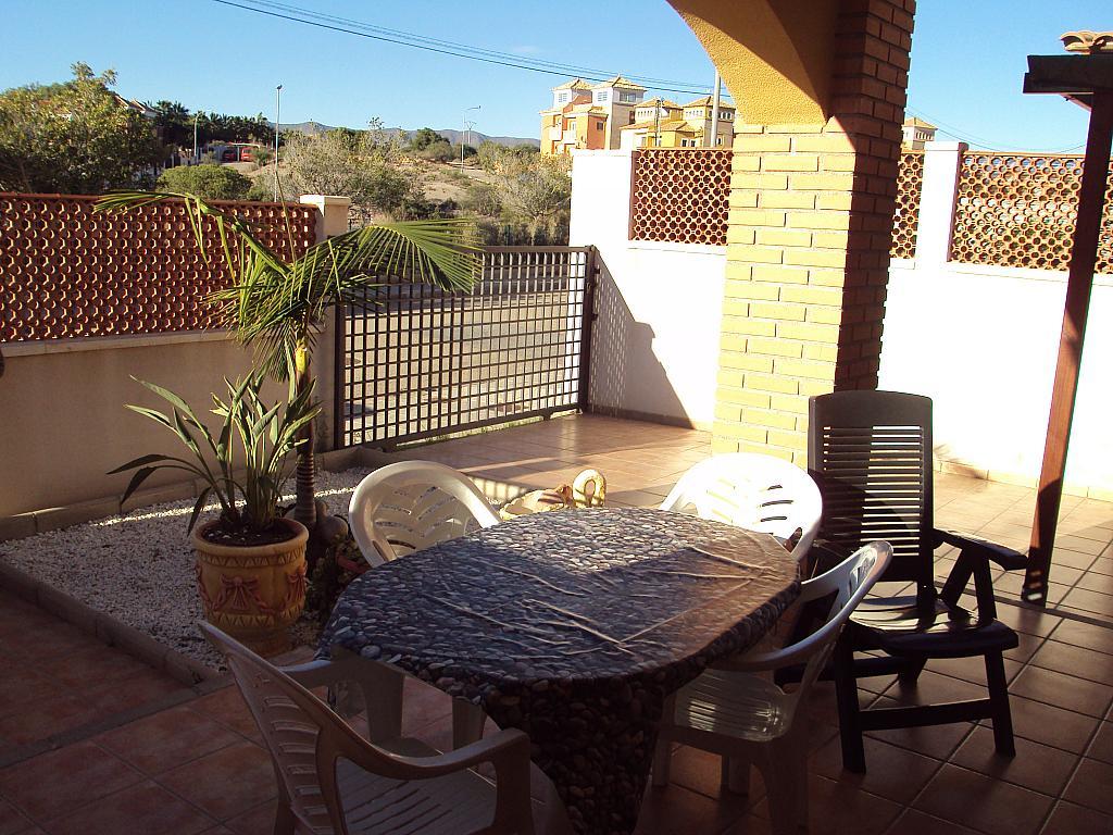 Terraza - Dúplex en alquiler de temporada en calle Rio Segura, Águilas - 129170207