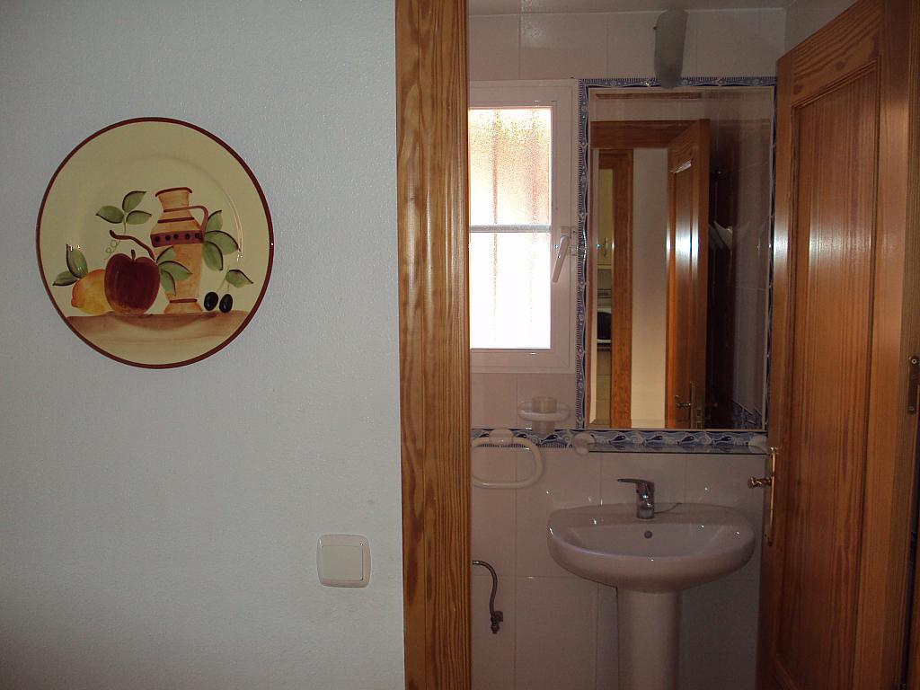 Baño - Dúplex en alquiler de temporada en calle Rio Segura, Águilas - 129170324