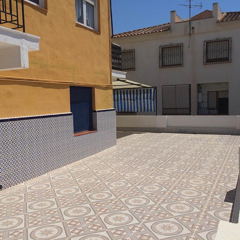 Patio trasero - Piso en alquiler de temporada en calle Mula Muñoz, Águilas - 145419117