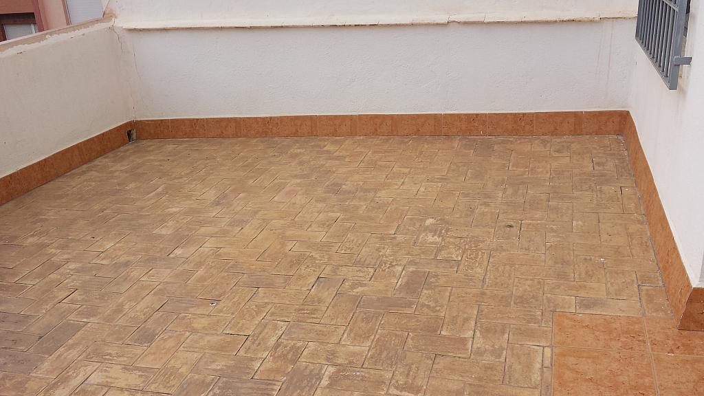 Terraza - Piso en alquiler de temporada en calle Centro, Águilas - 190477235