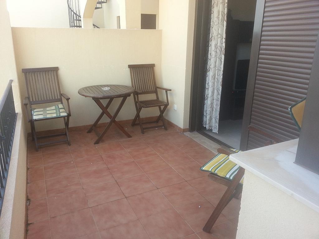 Terraza - Piso en alquiler en urbanización Villa Marina, Águilas - 203757441