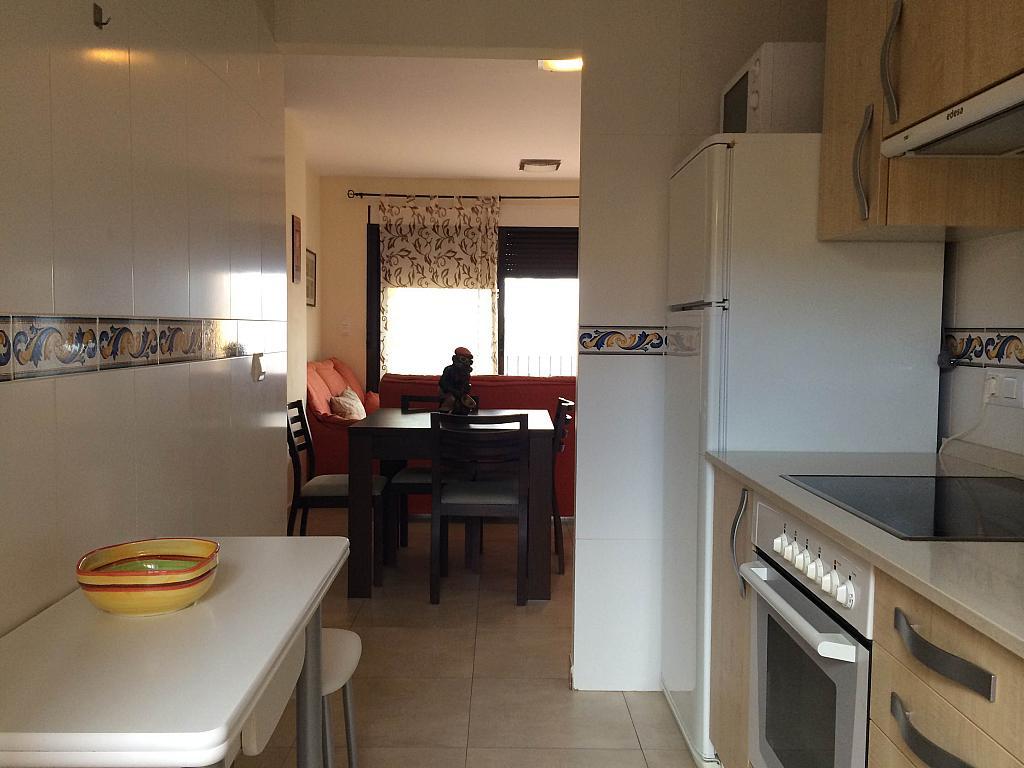 Cocina - Piso en alquiler en urbanización Villa Marina, Águilas - 203757449