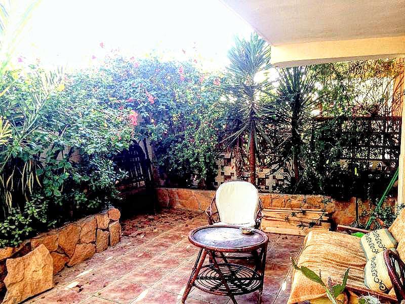Patio - Casa adosada en alquiler en calle Principe de Asturias, Águilas - 260978733