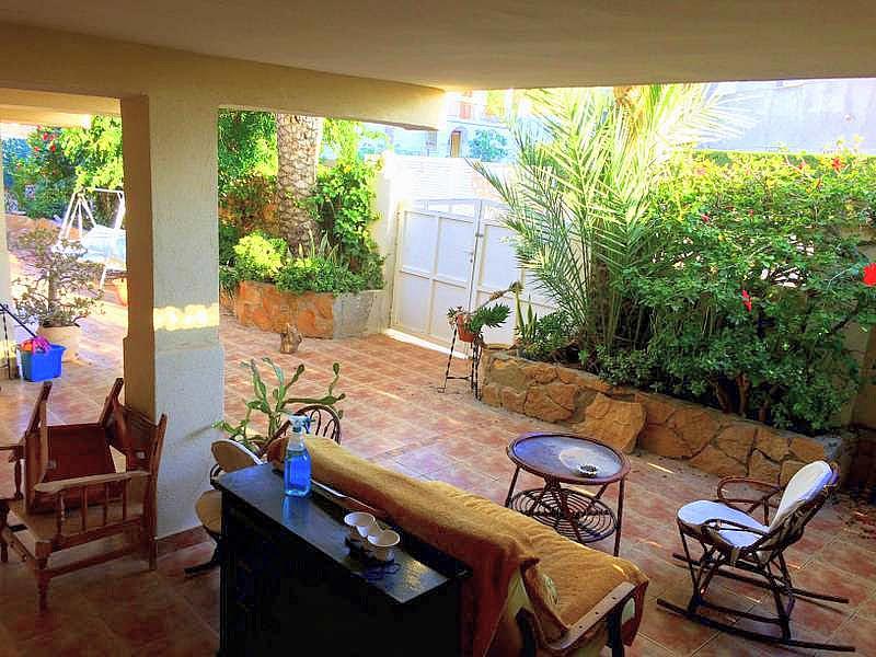 Jardín - Casa adosada en alquiler en calle Principe de Asturias, Águilas - 260978738