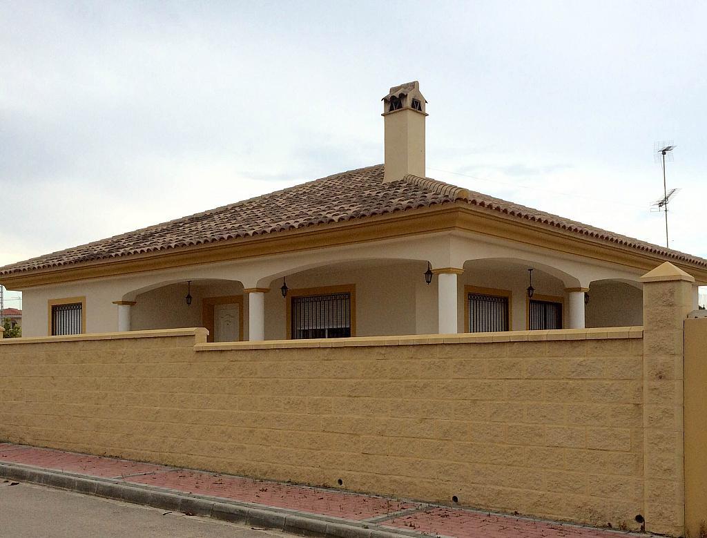 Fachada - Chalet en alquiler de temporada en calle Casa Blanca, Águilas - 195363733