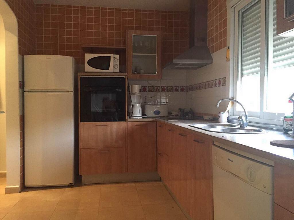 Cocina - Chalet en alquiler de temporada en calle Casa Blanca, Águilas - 195363779
