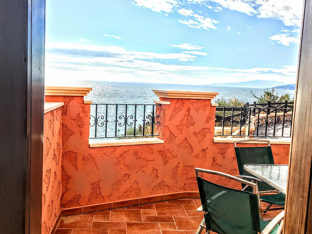Terraza - Piso en alquiler de temporada en plaza Murillo, San Juan de los Terreros - 236443045
