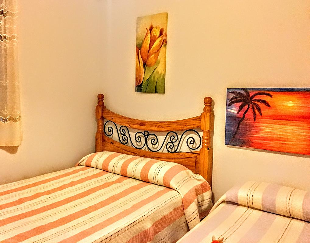 Dormitorio - Piso en alquiler de temporada en plaza Murillo, San Juan de los Terreros - 236443074