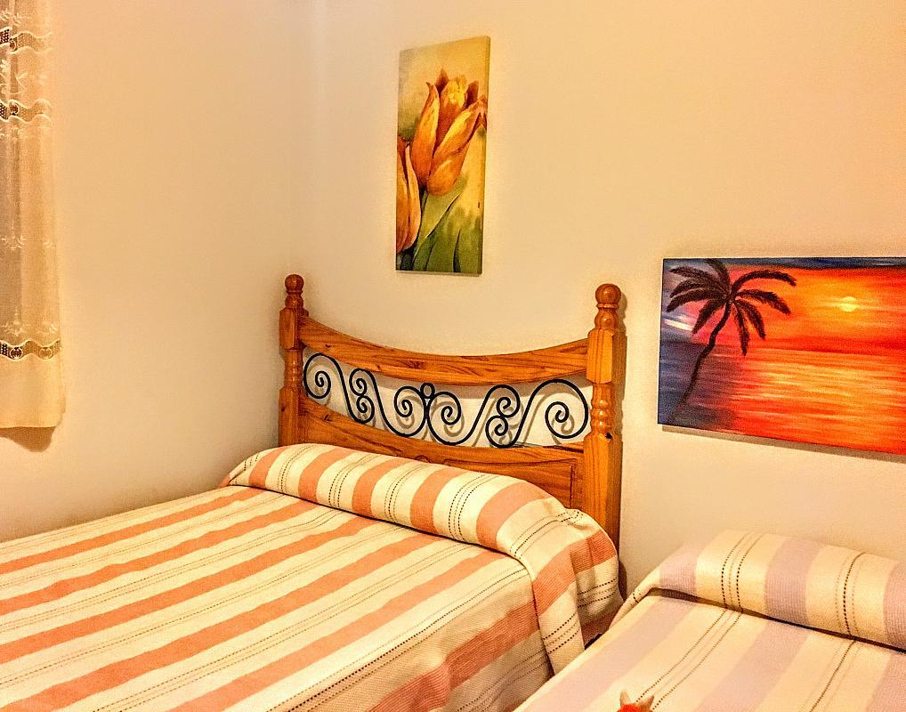Dormitorio - Piso en alquiler de temporada en plaza Murillo, San Juan de los Terreros - 236443251