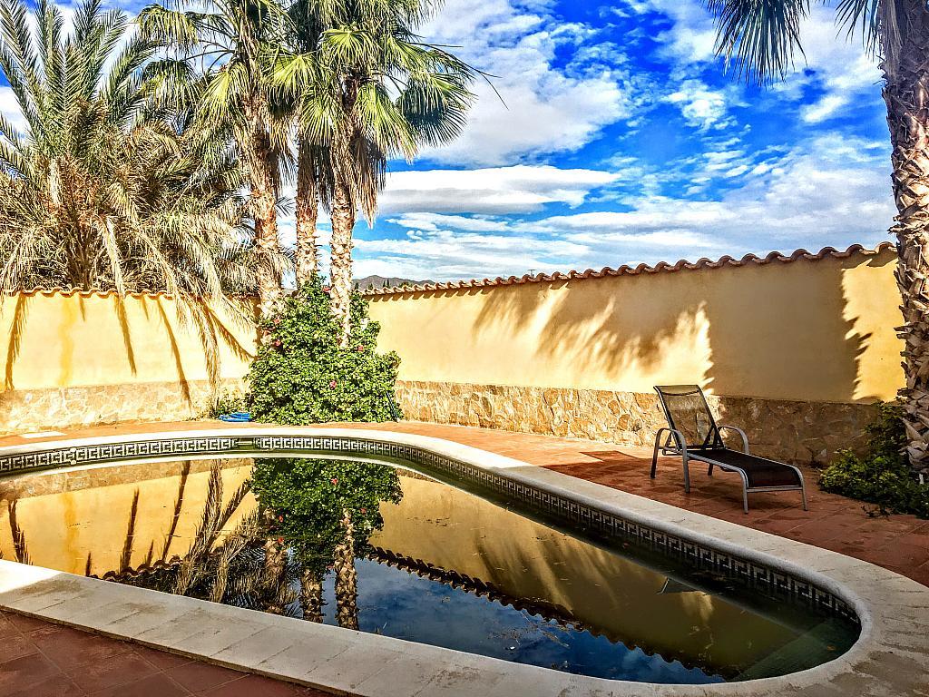 Piscina - Villa en alquiler de temporada en carretera Cocon, Águilas - 236572532