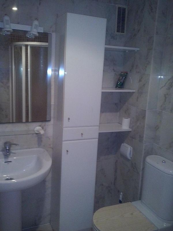 Baño - Apartamento en alquiler en calle Llobarro, Perellonet - 202877979