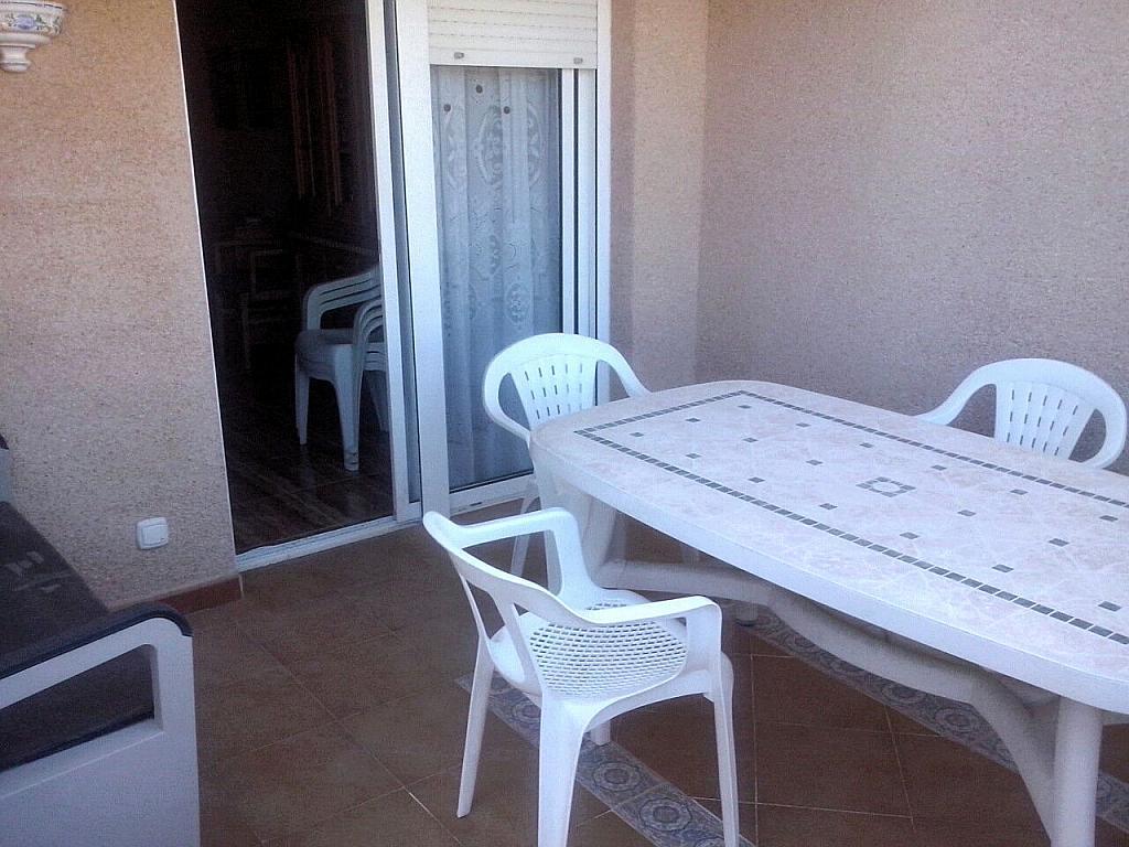 Terraza - Apartamento en alquiler en calle Llobarro, Perellonet - 202878004