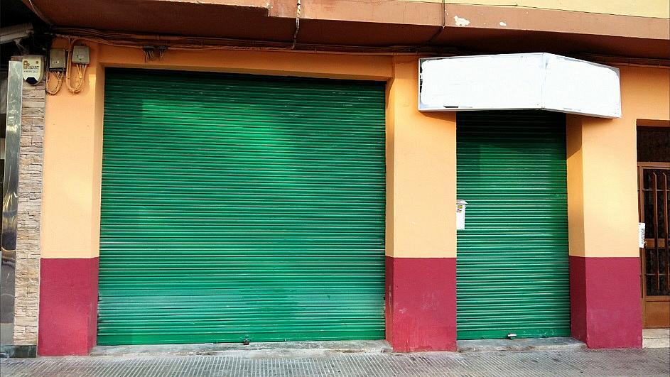 Fachada - Local comercial en alquiler en calle Alfafar, Benetússer - 239792666