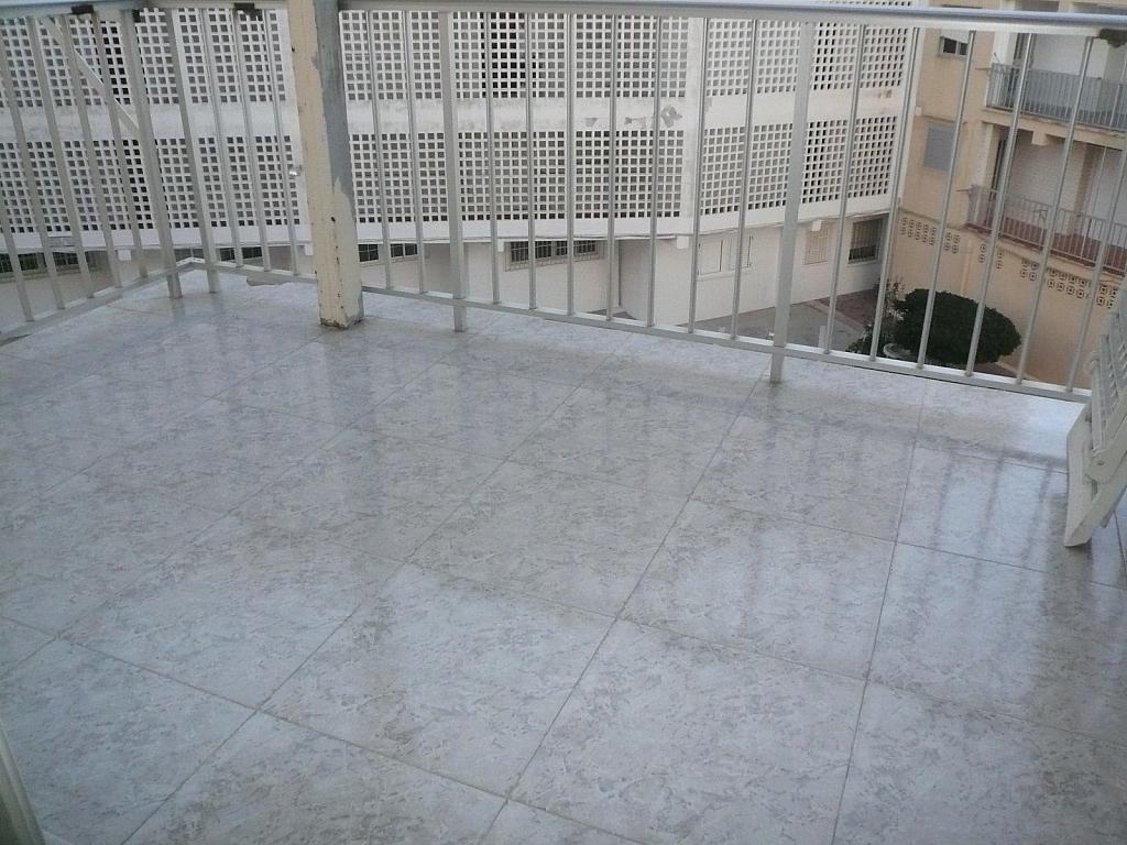 Terraza - Piso en alquiler en calle Gaviotas, Perellonet - 123831322