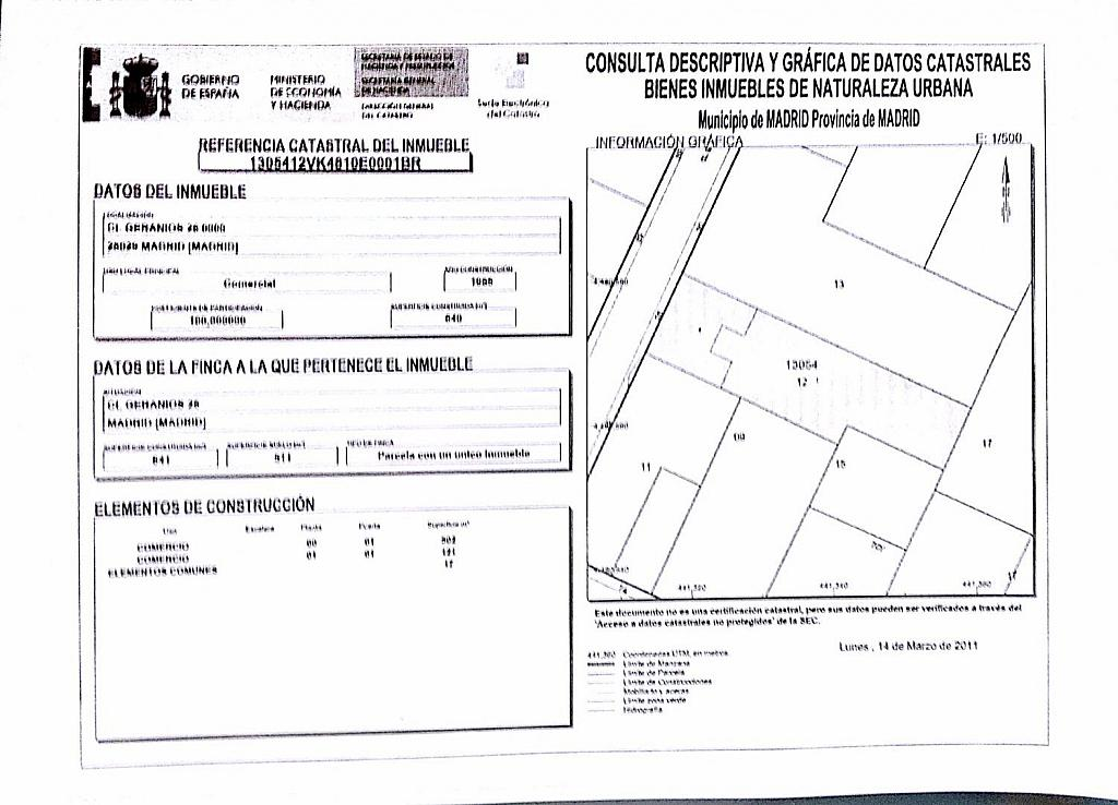 Nave industrial en alquiler en calle Geranios, Tetuán en Madrid - 308056308